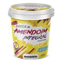 Pasta de Amendoim Integral - Mandubim 450g