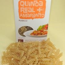 Massa de Quinoa Real e Amaranto Fusilli Tradicional - Mundo da Quinoa 300g