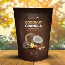 Coconut Granola Cacau e Avelã - Puravida 250g