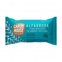Alfarroba Biscoito de Arroz Integral - Carob House 10g