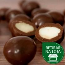 Amêndoas com Chocolate 70% Amargo a granel - 100g