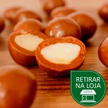 Amêndoas com Chocolate ao Leite a granel - 100g