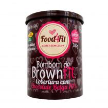 Amor em Lata - Bombom de BrowFit com Cobertura de Chocolate Belga 70% - Food4Fit 300g