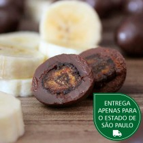Banana Passa Chocolate 70% a granel - 100g