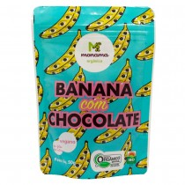 Banana com Chocolate - Monama 50g