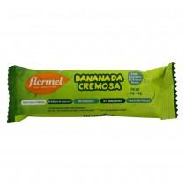Bananada Cremosa Zero - Flormel 22g