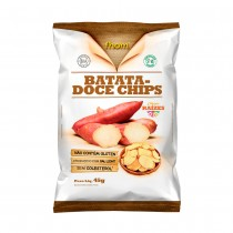 Batata Doce Chips - Fhom 45g