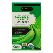 Biomassa de Banana Verde Integral - La Pianezza 250g