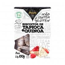 Biscoito de Tapioca com Quinoa - Fhom 100g
