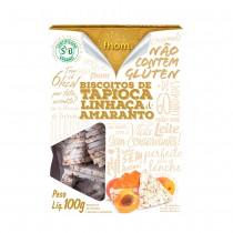 Biscoito de Tapioca Linhaça e Amaranto  - Fhom 100g