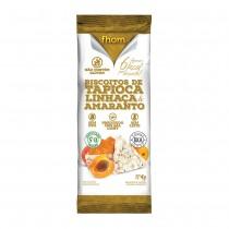 Biscoito de Tapioca, Linhaça e Amaranto - Fhom 4g