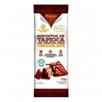 Biscoito de Tapioca com Chocolate - Fhom 15g