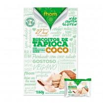 Biscoito de Tapioca com Coco - Fhom 60g