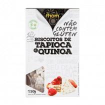 Biscoito de Tapioca com Quinoa - Fhom 50g