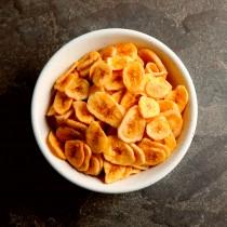Chips de Banana, Açúcar e Canela a granel - 100g