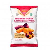 Chips de Batata Doce Laranja E Roxa - Fhom 45g