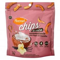 Chips de Coco Caramelizado - Flormel 20g