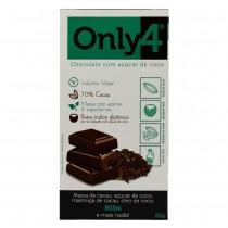Chocolate 70% Cacau Nibs - Only4 80g