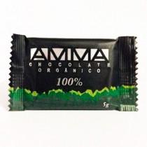 Chocolate Orgânico 100% Cacau - Amma 5g