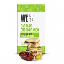 Choconutzbar - Chocolate Branco com Tâmara e Pistache - We Nutz 100g