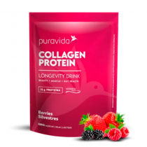 Collagen Protein Sabor Berries Silvestres - Puravida 450g