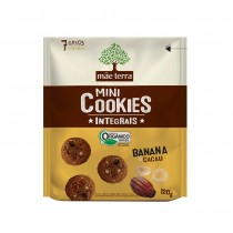 Cookies Integrais Banana e Cacau - Mãe Terra 120g