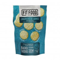 Cracker De Arroz Original - Fit Food 75g