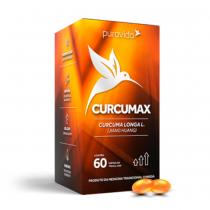 Curcumax em Cápsulas - Puravida 30g