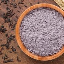 Farinha de Arroz Negro Integral a granel - 100g