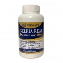 Geleia Real Liofilizada - BeeWays 60caps