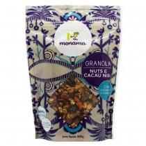 Granola Nuts e Cacau Nibs - Monama 200g