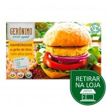 Hambúrguer de Grão de Bico com Alho Poró - Gerônimo 400g