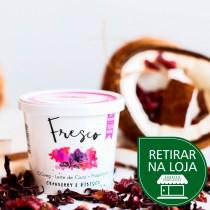 Iogurte de Coco Sabor Cranberry e Hibisco - Fresco 110g