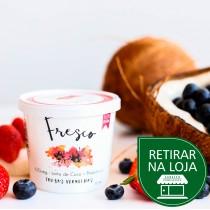 Iogurte de Coco Sabor Frutas Vermelhas - Fresco 110g