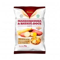 Mandioquinha e Batata Doce Chips - Fhom 45g
