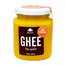 Manteiga Ghee com Cúrcuma - Benni 200g