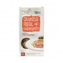 Massa de Quinoa Real e Amaranto Anelli Tricolor - Mundo da Quinoa
