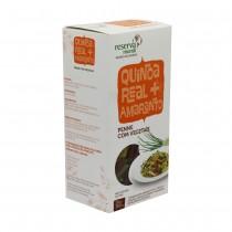 Massa de Quinoa Real e Amaranto Fusilli Tricolor - Mundo da Quinoa 300g