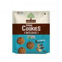 Mini Cookies Integrais 4 Castanhas - Mãe Terra 120g