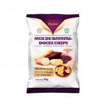Mix de Batata Doce Chips - Fhom 45g