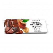 Natural Protein Bar Sabor Avelã com Cacau - Puravida 60g