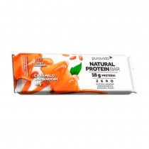 Natural Protein Bar Sabor Caramelo e Amendoim - Puravida 60g