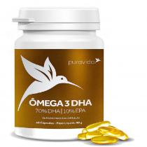 DHA Ômega 3 - Puravida 60 Cápsulas