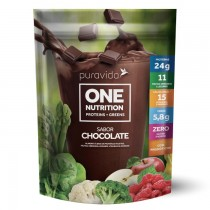 One Nutrition Vegan sabor Chocolate - Puravida 45g
