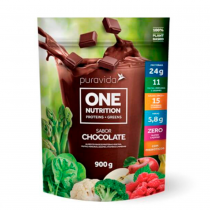 One Nutrition Vegan Sabor Chocolate - Puravida 900g