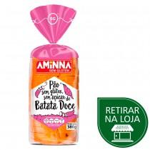 Pão sem Glúten e sem Açúcar de Batata Doce - Aminna