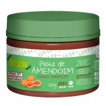Pasta de Amendoim Chocolate Protein - Eat Clean 300g
