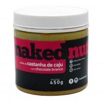 Pasta de Castanha de Caju com Chocolate Branco - Naked Nuts 450g