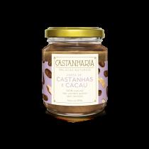 Pasta de Castanha e Cacau - Castanharia 210g