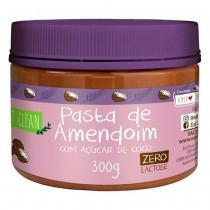 Pasta de Amendoim com Açúcar de Coco - Eat Clean 300g